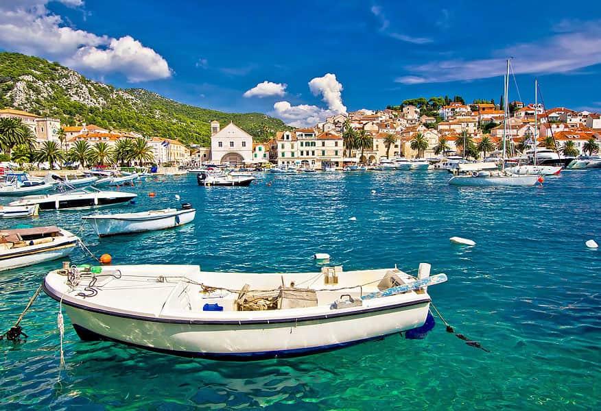 Хорватия, Сплит, дворец Диоклетиана, Адриатическое море