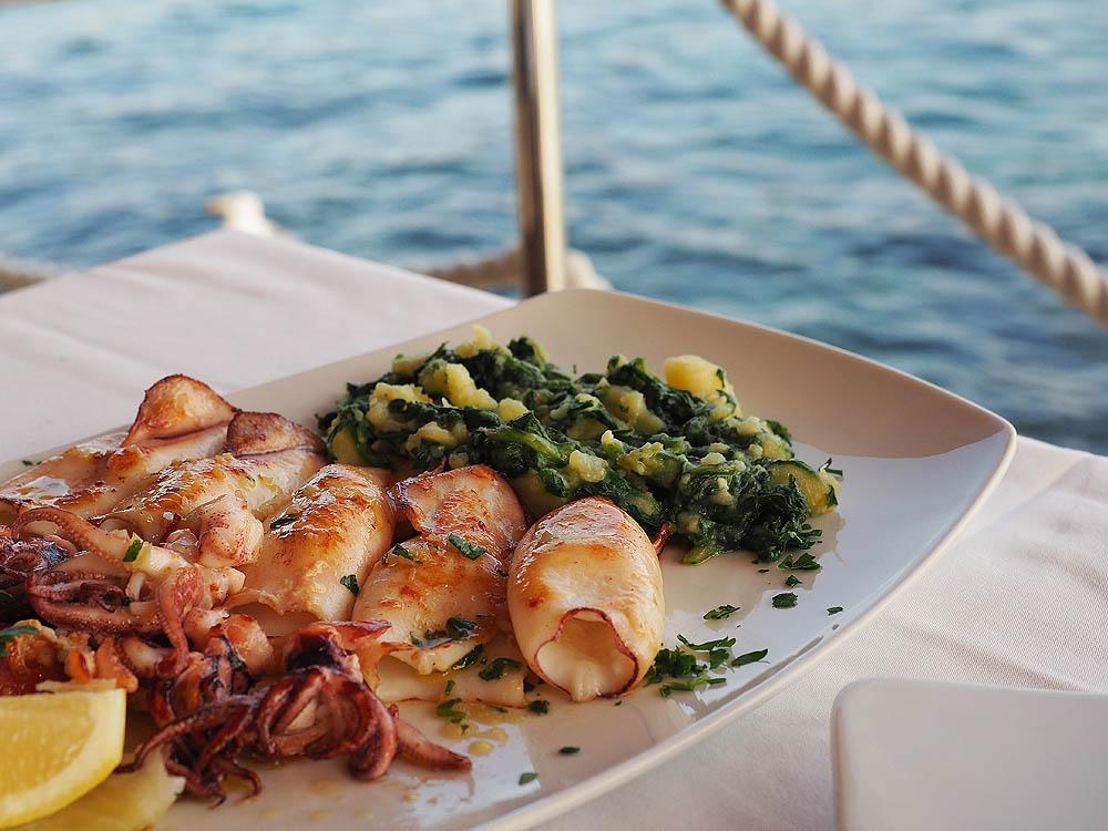 Кухня Хорватии, вкусная еда, морепродукты