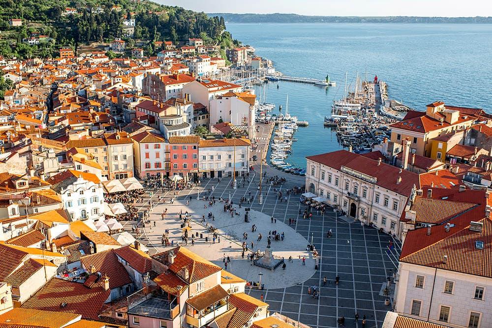 Словения, Любляна, Порторож, озеро Блед