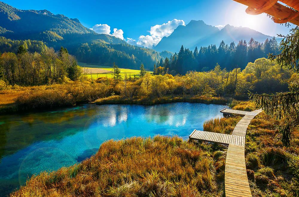 Словения, озеро Блед, заповедник Триглав, Кобла, Вогел, Затрник, Поклюка, озеро Бохинь