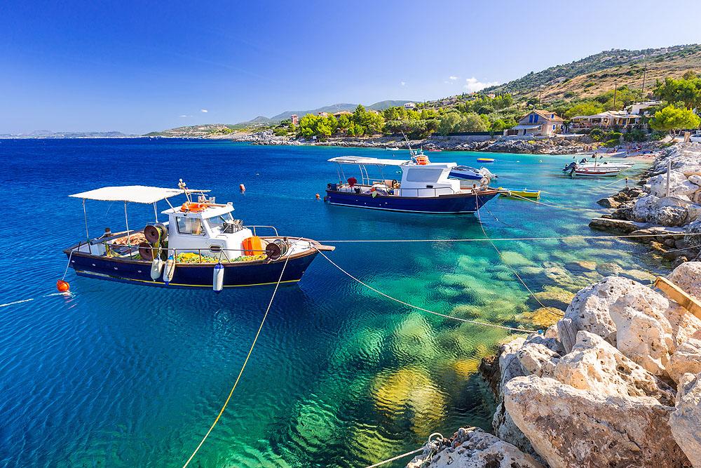 Греция, Закинф, Остров Кораблекрушения