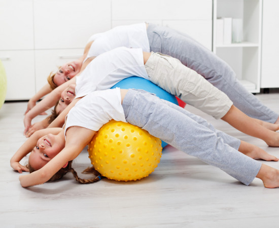 Детский фитнесс, развитие детей, спорт для детей
